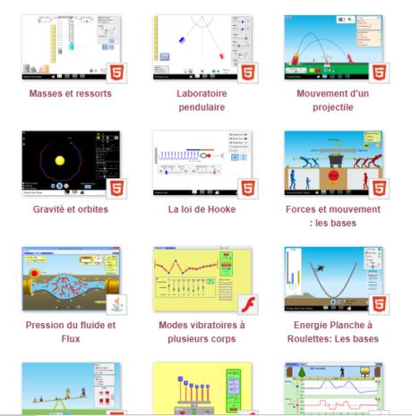 Simulations interactives